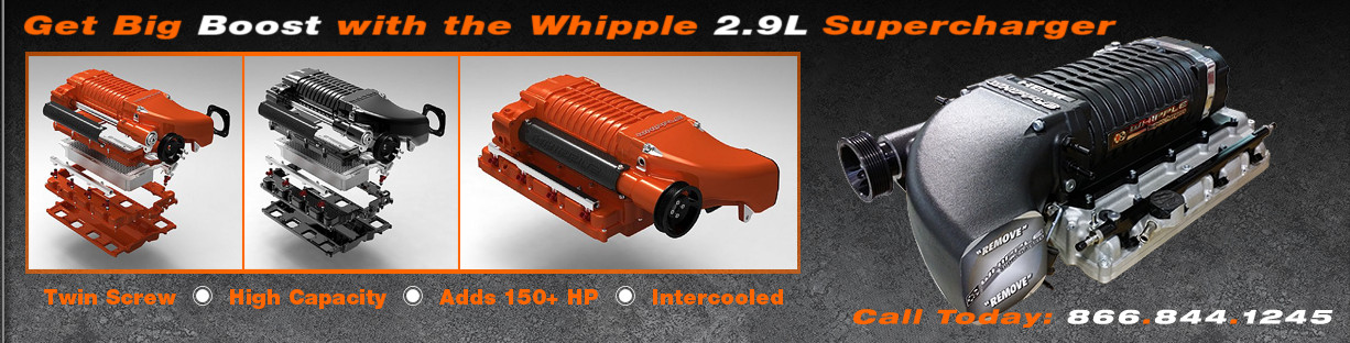 Arrington Performance features the WHIPPLE 2.9L Supercharger